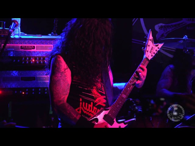 KRISIUN live at Saint Vitus Bar Oct 1st 2015 FULL SET