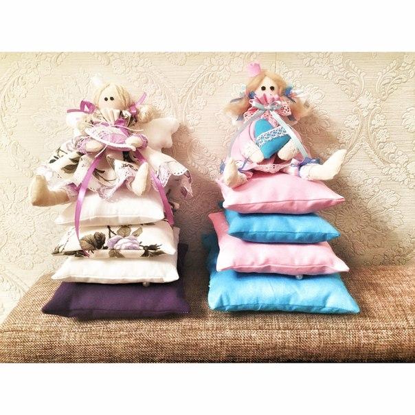 Интерьерные куклы создадут тепло и уют… (1 фото)