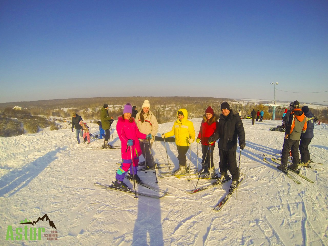 Тур на горнолыжный склон в Харьков