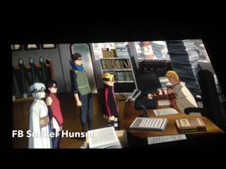 Отрывок 11 Фильма №10: Команда Конохамару в офисе Хокаге