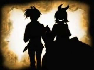[Вокалоиды / Vocaloids] Сага Зла / Saga of Evil - 1 часть - Дочь Зла / Daughter of Evil (Озвучка) [Soundless Voice]