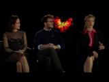 Интервью актёрского состава «Сойки-пересмешницы» со Скоттом Карти