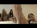 live sex lesson for lot of chicks at the auditory