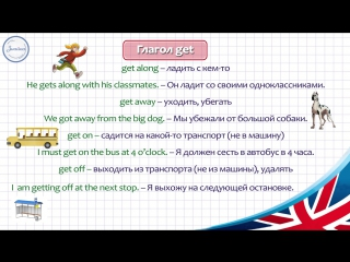Английский ЯЗЫК 8 КЛАСС. ГРАММАТИКА № 3---Английские глаголы с предлогами