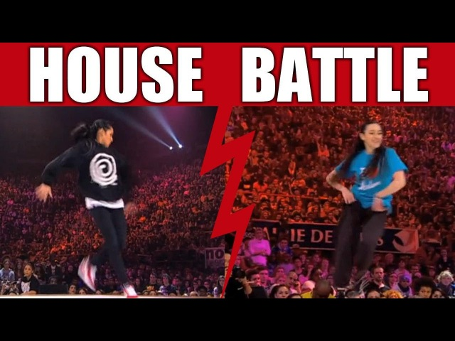 HOUSE dance battle Sarou Faboo vs Perla Bly