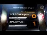 Обзор матча: Футбол. РФПЛ. 2-й тур. Краснодар - Спартак 0:1