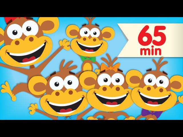 Five Little Monkeys | More Super Simple Songs Nursery Rhymes