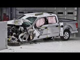 Crash Test 2015 FORD F-150 SuperCrew and SuperCab