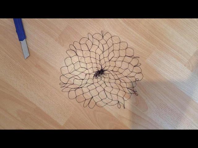 Part.3 Простой и быстрый способ вязания Кастинговой сети (накидка)