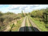 На электропоезде ЭД9э от станции Петряевка до платформы Кустовая