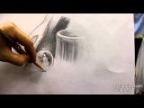 Обучение рисунку. Введение. 16 серия: упражнения на штрих