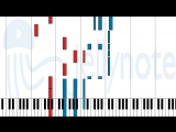 ноты Sheet Music - Yotsuba no Clover - .hack//Liminality