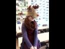 Дашка прмерила новогодний костюм