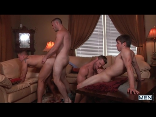 Johnny Rapid, Landon Conrad, Logan Vaughn amp Paul Wagner