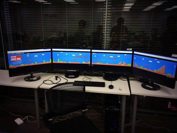 Вы когда-нибудь слышали про Mario в разрешении 7980x1080? А он есть.