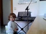 Little kid sings blues