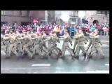 Военный парад в честь дня независимости с комментариями сотрудника пожарной службы Эстонии