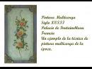 Pintura Multicarga siglo XVIII Palacio de Fontainebleau