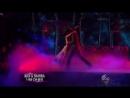 Nick Carter & Sharna Burgess dance the Argentine tango