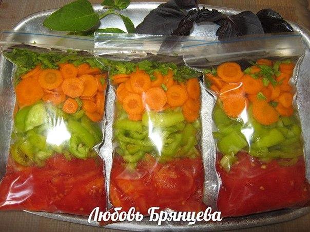 Заморозка на зиму из овощей рецепты с фото - Заморозка - рецепты