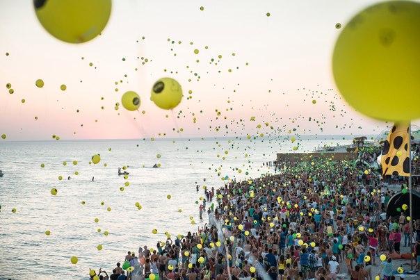 Пляжи в Крыму
