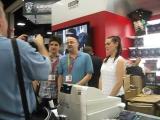 Colin Morgan  Katie McGrath at San Diego Comic-Con 2012 (7 14 12)