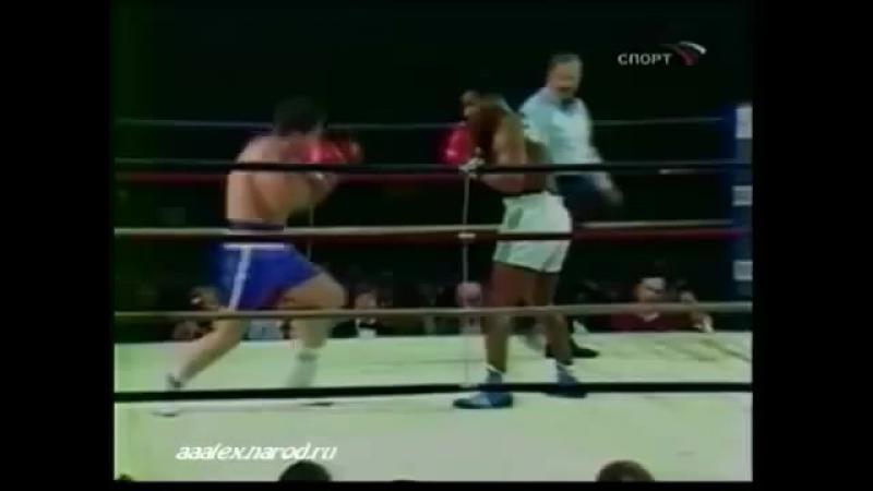 Майк Тайсон - Дон Хэлпин 3(1) Mike Tyson vs Don Halpin