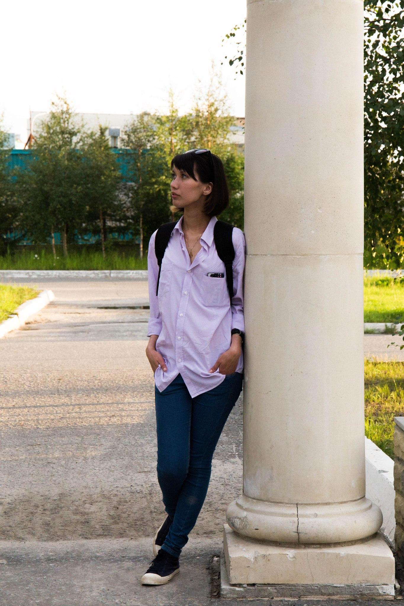 Девушка из нового уренгоя фото