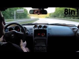 Гонка - Ниссан 350з против Порш 991 ГТ-3, Победил Фольксваген Голф 1-ого поколения / Nissan 350Z Porsche 991 GT3, VW GOLF 1 wins