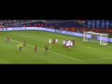 Barcelona 1-1 Sevilla / Leonel Messi free kick goal