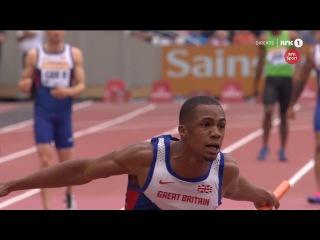 4x100m Great Britain&NI A 38.32 Diamond League London 2015