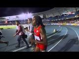 Candace Hill 11.08 CR wins 100m Final Khalifa St Fort 2nd 11.19 PR World Youth Champs 2015