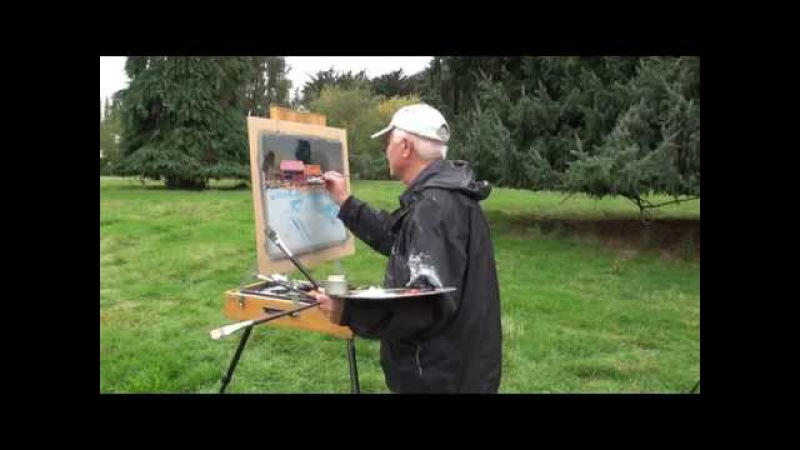 Fine Art tips on How to Paint Plein Air in New Zealand with John Crump on Colour In Your Life