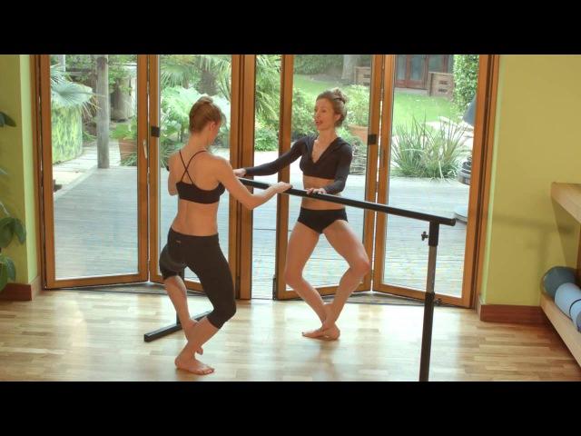 Sleek 15min body sculpting barre workout