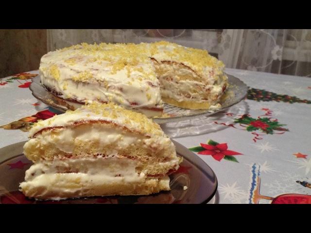 Лимонник Лимонный Торт из Настоящих Лимонов Очень Нежный и Сочный Lemon Cake Recipe