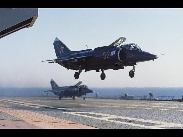 Как был создан 1-й отечественный палубный самолёт вертикального взлёта и посадк ...