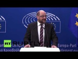 Бельгия: ЕП Шульц выражает