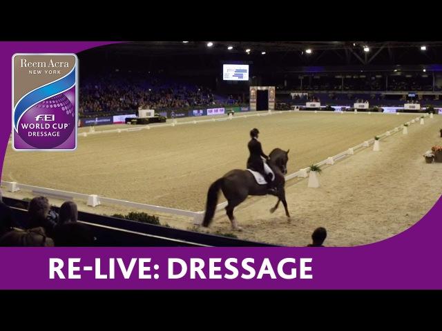 Re Live Reem Acra FEI World Cup™ Dressage Amsterdam Grand Prix