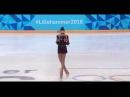 TSURSKAYA Polina (RUS), free programm, 16.02.2016, Youth Olympic Games. FP, FS, LP
