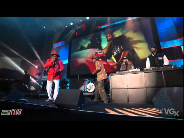 Tyler, The Creator Feat. Earl Sweatshirt - Garbage (Live @VGX)