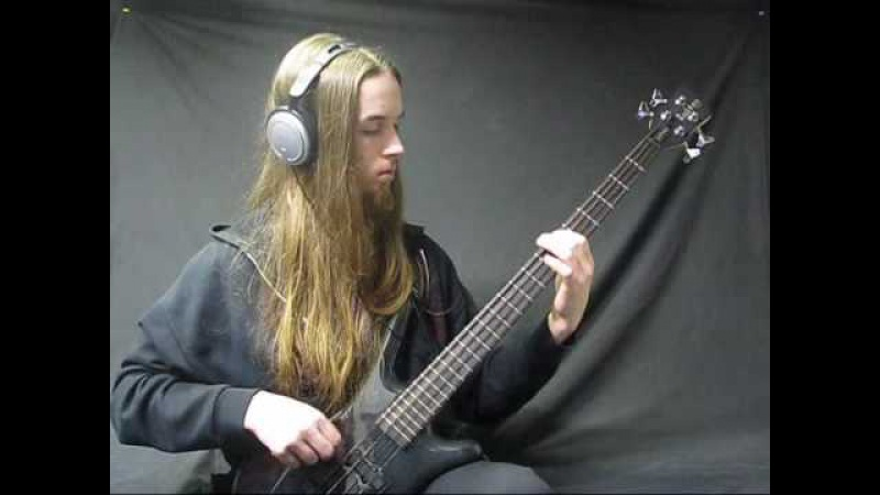 Cryptopsy - Phobophile on bass guitar