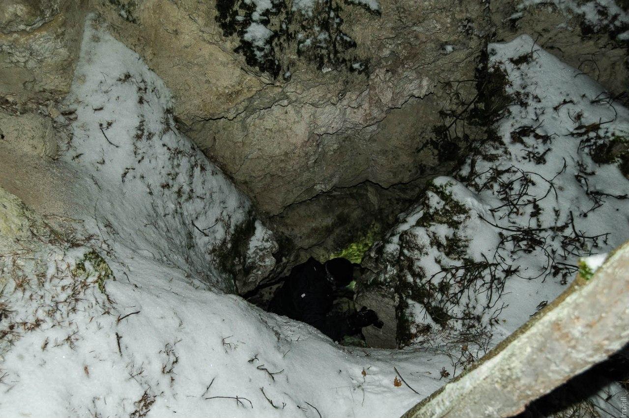 Провал над подземным течением реки Судинки