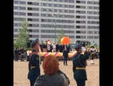 МакSим на линейке у Саши в Гимназии 1409 (Москва, 01.09.2015)