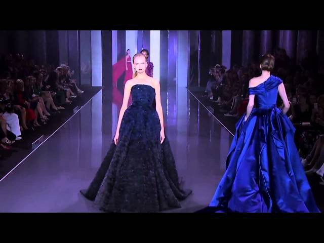 Коллекция Ralph Russo Haute Couture Осень Зима 2014 2015 Показ в высоком качестве