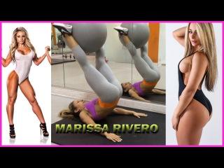 MARISSA RIVERO | IFBB Bikini Pro Fitness Model Exercices to Legs