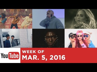 Top 10 Most Popular Songs - Week Of March 5, 2016 (YouTube)