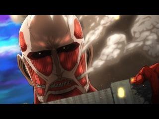 Shingeki! Kyojin Chuugakkou - 01 |  Вторжение! Гиганты средней школы - 01 серия [ iSergey123 ]