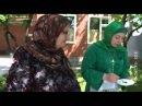 На кухне у Тандиевой Зины в селе Дуба Юрт готовит блины по-чеченски (Чеяня сегодня)