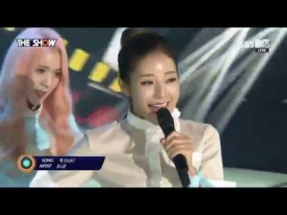150915 UNICORN (유니콘) - Huk (헉) @ 더쇼 The Show