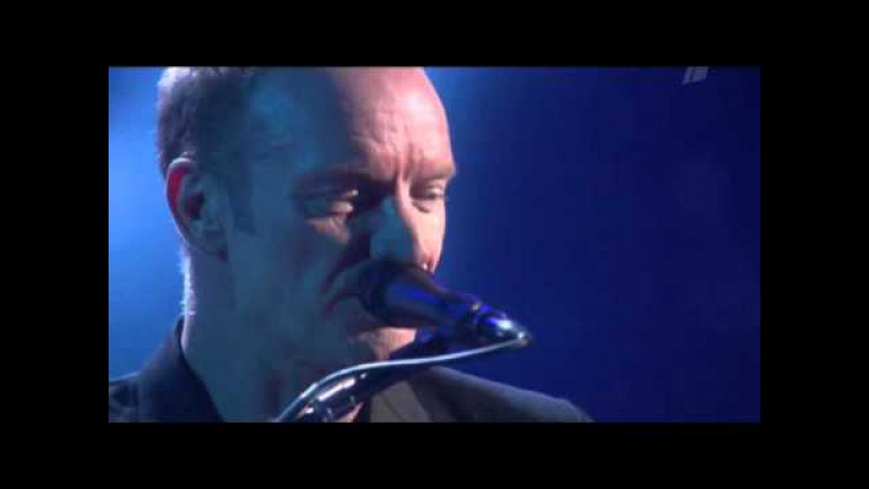 Sting in Moscow Fragile LIVE